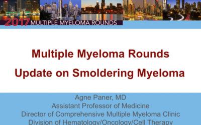 Focus on Smoldering Multiple Myeloma