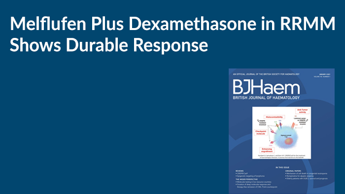 Melflufen Plus Dexamethasone in RRMM Shows Durable Response
